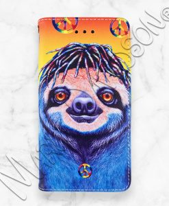 Hippie Sloth iPhone Wallet Case Maree Davidson