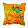 LEAP FROG - CUSHION COVER - MAREE DAVIDSON ART