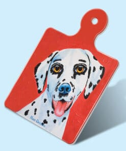 LUCKY THE DALMATION SQUARE TRIVET