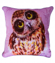 MAKE ROOM FOR ME - OWL COLLECTION - CUSHION COVER - MAREE DAVIDSON ART