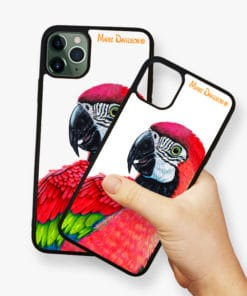 Macaw Red - Phone Case - Maree Davidson 2