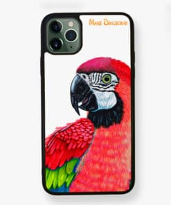 Macaw Red - Phone Case - Maree Davidson