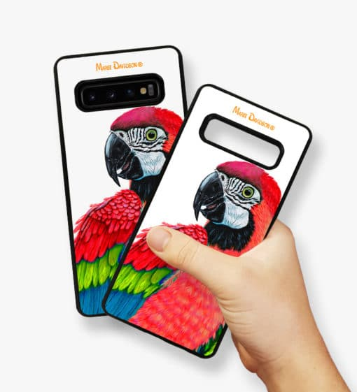 Macaw Red - Samsung Phone Case - Maree Davidson 2
