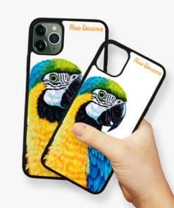 Macaw Yellow - Phone Case - Maree Davidson 2