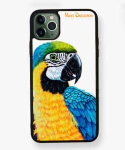 Macaw Yellow - Phone Case - Maree Davidson