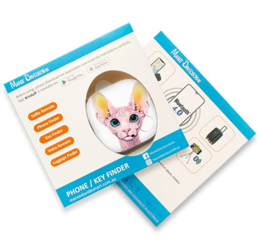 Madame Meow- PHONE AND KEY FINDER