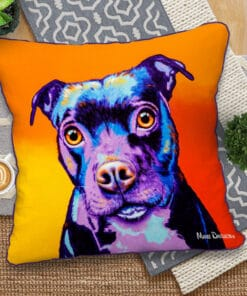 Missy the Baby Staffy - European Cushion Covers