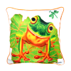 LEAPFROG - CUSHION COVER - MAREE DAVIDSON ART