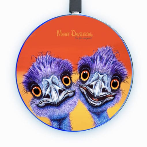 Outback Buddies - Phone Charger - Maree Davidson Art