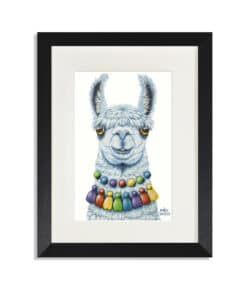 Pablo the Llama- Maree Davidson Art