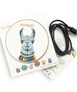 Pablo the Llama - Phone Charger - Maree Davidson Art 2