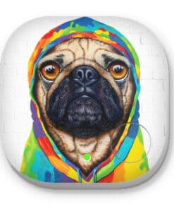 Pug 4 life - PHONE AND KEY FINDER - MAREE DAVIDSON ART