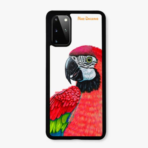 Macaw Red - Samsung Phone Case - Maree Davidson