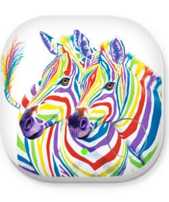 RAINBOW ZEBRA PHONE AND KEY FINDER
