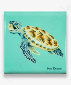 Shellby - Ceramic Coaster - Maree Davidson