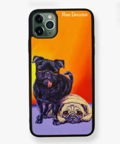 DOUBLE TROUBLE- iPhone Case - Maree Davidson