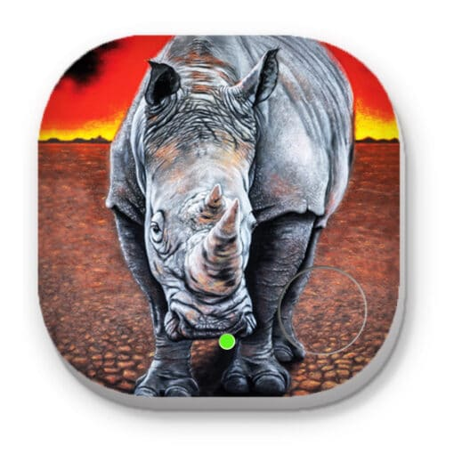 Sunset rhino - PHONE AND KEY FINDER