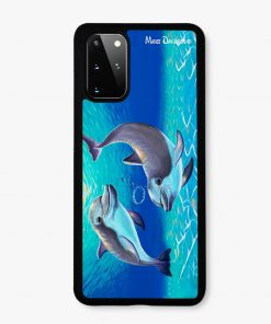 Two Dolphins - Samsung Phone Case - Maree Davidson