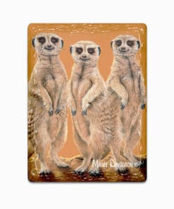 Three Meerkatteers - Ceramic Magnets - Maree DavidsonSCHNAUZER HARRY- Ceramic Magnets - Maree Davidson