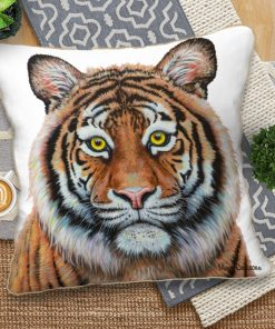 Eye of the Tiger - European Cushion Covers