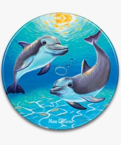 Two Dolphins - Ceramic Trivets - Maree Davidson