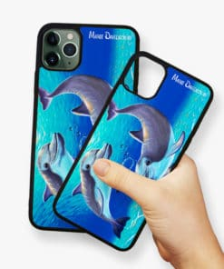 Two Dolphins - Phone Case - Maree Davidson 2