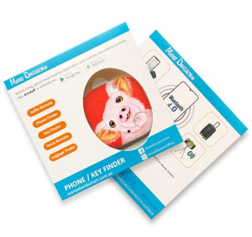 Wiggles the pig - PHONE AND KEY FINDER