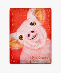Wiggles the Pig - Ceramic Magnets - Maree DavidsonSCHNAUZER HARRY- Ceramic Magnets - Maree Davidson