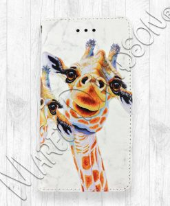 You Make Me Smile Giraffe iPhone Wallet Case Maree Davidson
