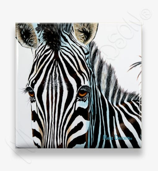 Zuri - Ceramic Coaster - Maree Davidson