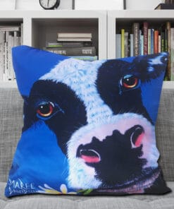 DAISY THE COW - CUSHION COVER - MAREE DAVIDSON ART