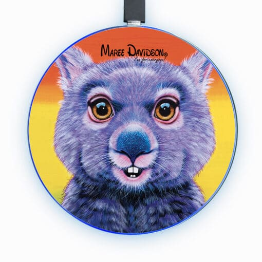 DIGGER THE WOMBAT IRELESS CHARGER