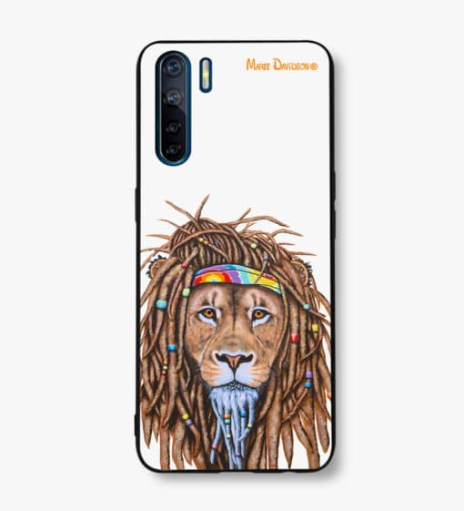 Hippie Lion - OPPO Phone Case - Maree Davidson