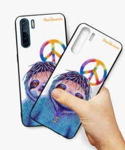 HIPPIE SLOTH - OPPO PHONE CASE COVER 2