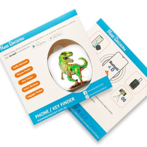 T-REX THE TYRANNOSAURUS PHONE AND KEY FINDER