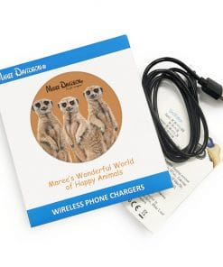 THREE MEERCATS-WIRELESS CHARGER-MAREE DAVIDSON ART
