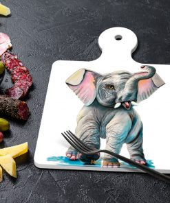 WILD THING - SQUARE TRIVETS WITH HANDLE-MAREE DAVIDSON ART