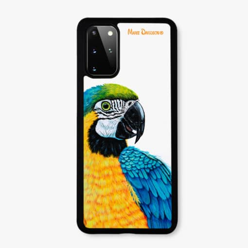 Macaw Yellow - Samsung Phone Case - Maree Davidson
